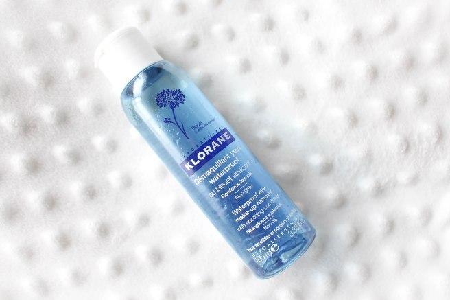 klorane démaquillant yeux waterproof au bleuet apaisant