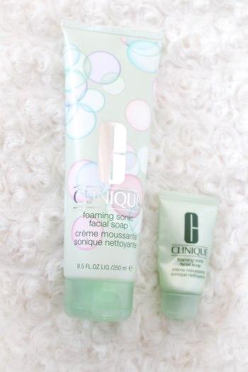 clinique foaming sonic facial soap crème moussante sonic nettoyante