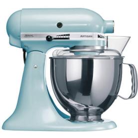 robot kitchen aid bleu glacier