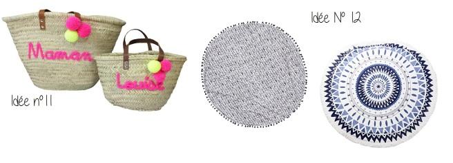 Idées cadeaux plage fête des mères