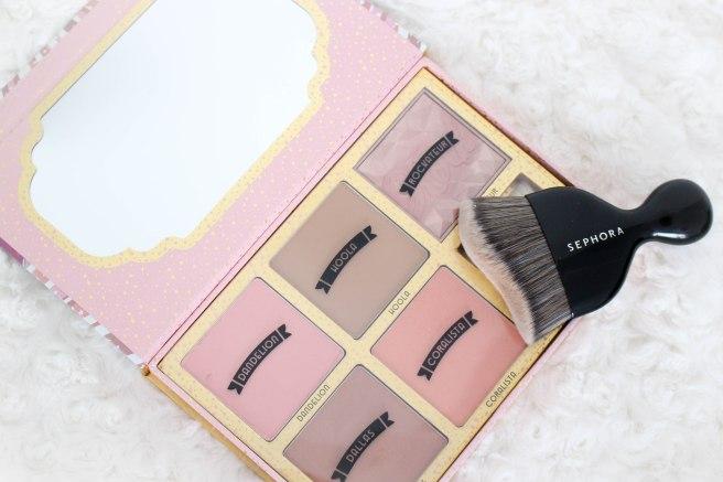 palette blush cheekathon benefit - séphora