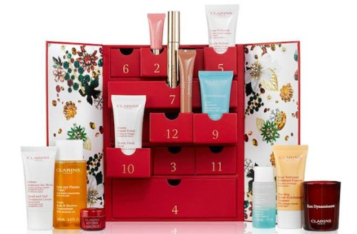 calendrier avent clarins